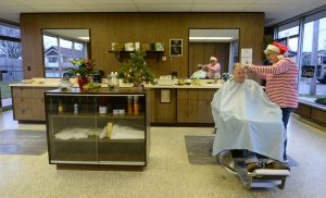 Saying good-bye to the Triangle Barber Shop