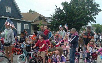 Doll buggy parade