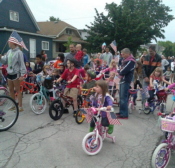 Doll buggy parade