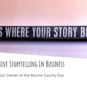 Narrative storytelling for business