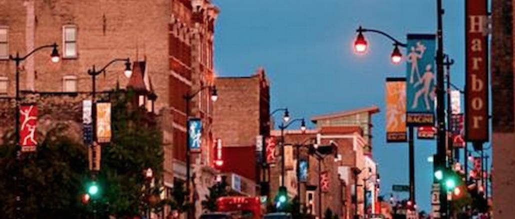 Downtown Racine main street