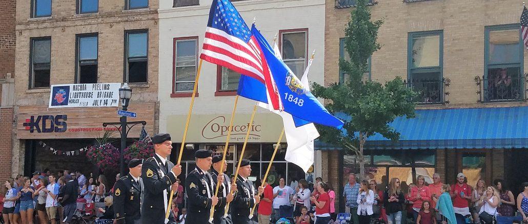 Racine Fourth Fest Parade