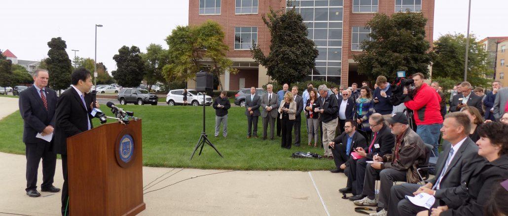 Foxconn announcement Racine Innovation Center